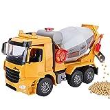 Lihgfw Übergroße Austragen Mischer-LKW-Spielzeug-Auto Kinder Beton Ingenieurwesen LKW Zement-LKW LKW Tank Modell Boy