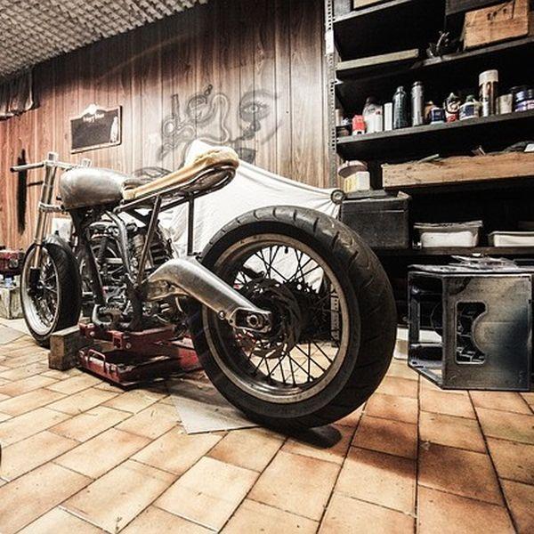 Garage Bodenfarbe Test